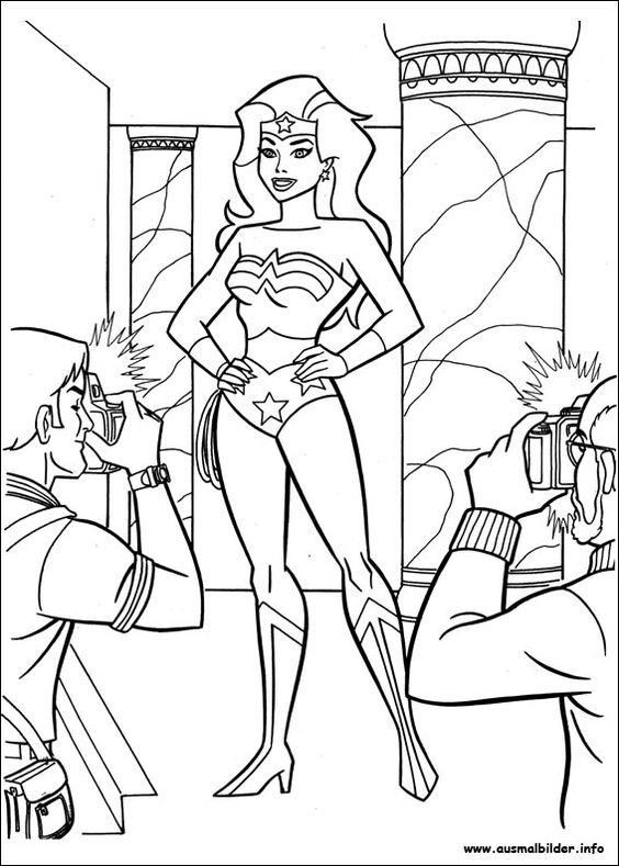 Wonder Woman malvorlagen | Wonder Woman Party Inspiration ...