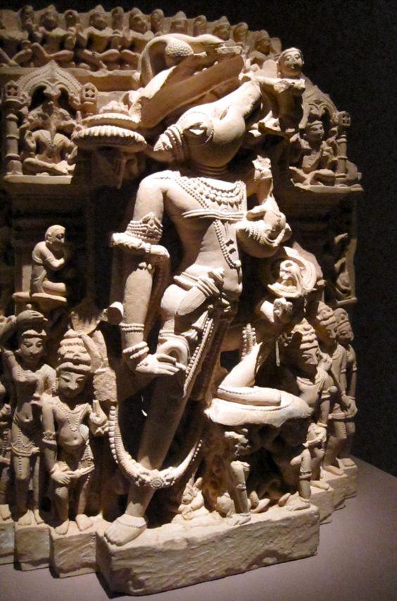 Vishnu Varaha sculpture  India  Asian Art Museum of San Francisco: