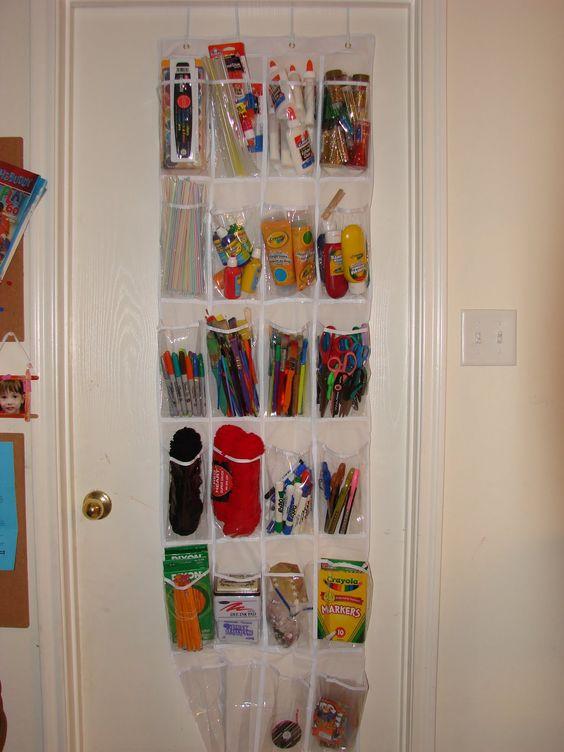 organizing school supplies educational ideas pinterest crafts organizing school supplies. Black Bedroom Furniture Sets. Home Design Ideas