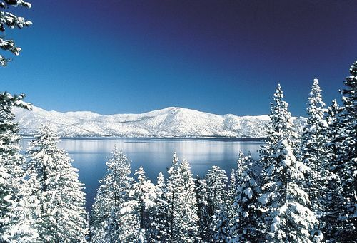 Lake Tahoe...where I first learned how and fell in love with snow skiing