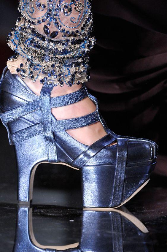 runway-shoes:    Jean Paul GaultierCouture Fall 2012