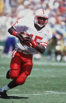 18 Sep 1993: Tommie Frazier, Quarterback of Nebraska