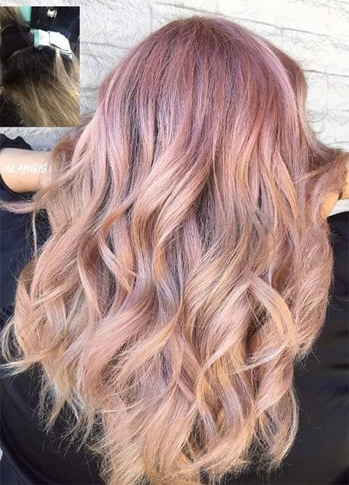 50 Amazing Rose Gold Hair Ideas That You Need To Try Gold Hair