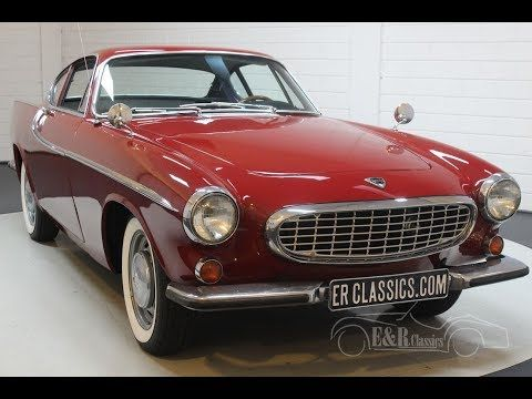 This Volvo P1800 Was Built In 1965 And Executed In A Beautiful Red Paint Volvo Color Code 46 The Original Color With Which Volvo Classic Cars Cars For Sale