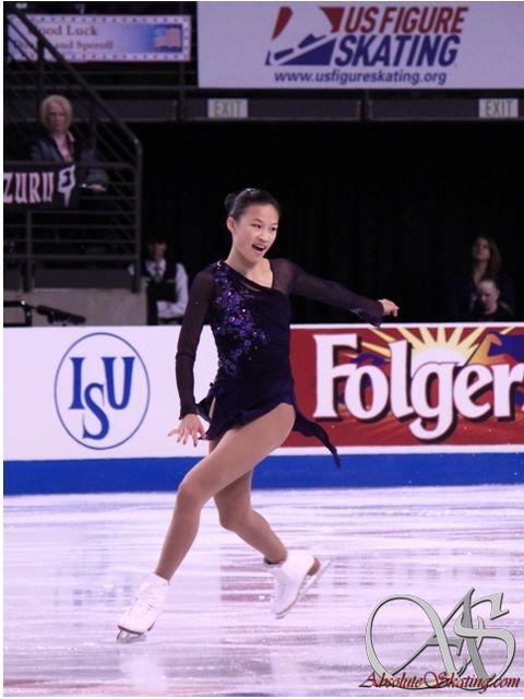 Christina Gao(USA) : Skate America 2012