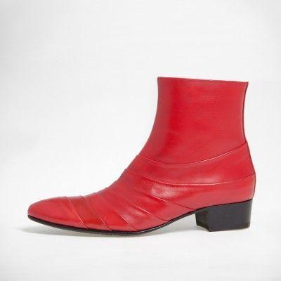 Boots de Philippe Zorzetto #redshoes