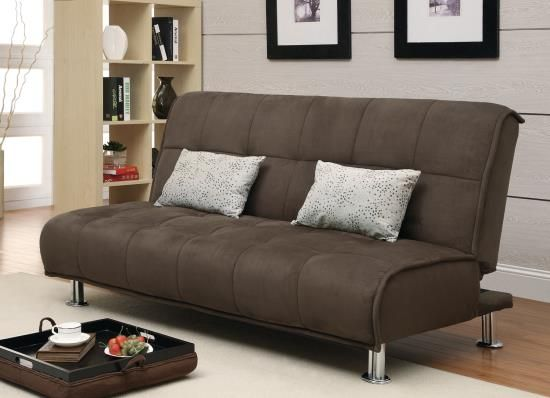 Brown Sofa Bed Coaster 300276 Sofa Bed With Chaise Sofa Bed