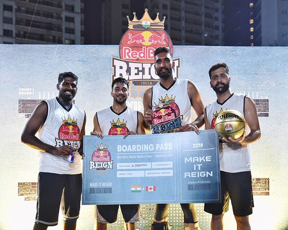 INDIA FINALS OF RED BULL REIGN- A UNIQUE GLOBAL 3 ON 3 BASKETBALL TOURNAMENT