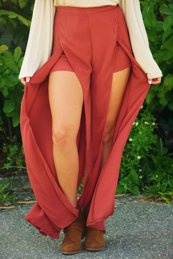 See You In A Slit Pants: Terracotta #shophopes
