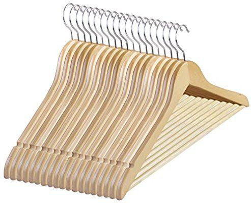 Amazon Com Utopia Home Premium Wooden Hangers Pack Of 20