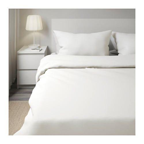 Dvala Duvet Cover And Pillowcase S White King White Duvet