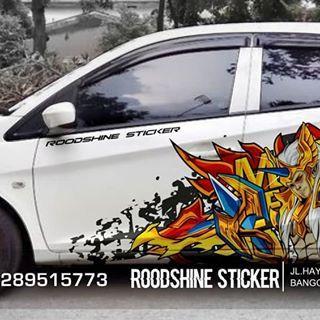 Desain Baru Gan Buat Owner Honda Brio Yang Demen Sama Mobile Legend Silahkan Diorder Brio Briomodifikasi Hondamodif Decals Stickers Hatchback Stickers