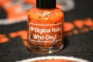 Cincinnati Bengals nail art -