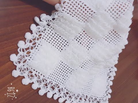 Parmaga Sarilarak Yapilan Sacakli Lif Yapimi Youtube Crochet Videos Tutorials Weaving Patterns Crochet Home