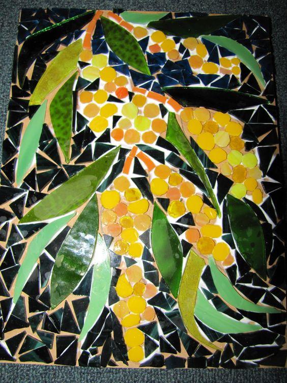 mosaic By kat Gottke: Gottke Work, Fauna Mosaics, Mosiacs Stained, Mosiac Project, Kat Gottkes, Beautiful Mosiac, Gottkes Mosaics, Mosaic Art