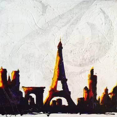 "Saatchi Art Artist sand art bluto; Printmaking, ""couleurs urbaines 1 - Limited Edition 3 of 3"" #art"