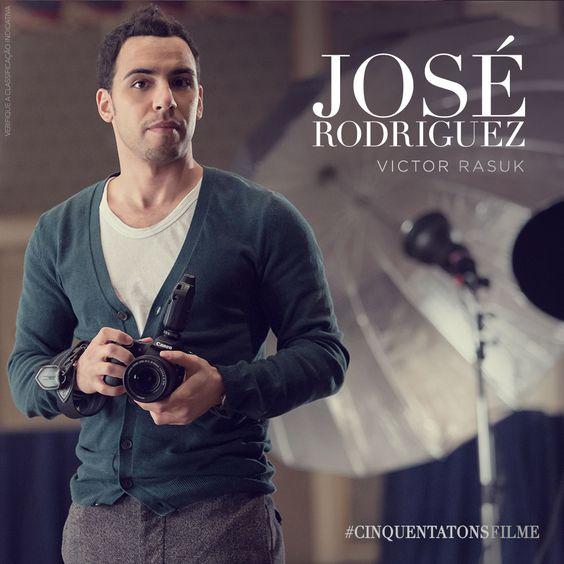 Victor Rasuk é José Rodriguez. Será ele um rival para Christian Grey? #CinquentaTonsFilme