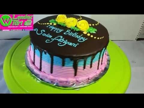 Tart Blora Simpel Cake Tube Londoz Tart Coklat Siram