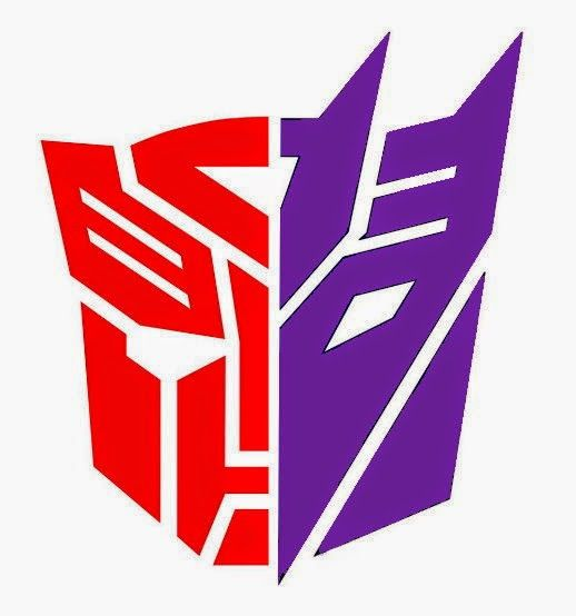 transformers half autobot half decepticon google search