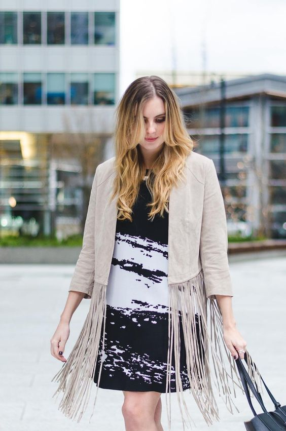 Love 70s style? Learn how to style fringe this spring and bring on the retro style!