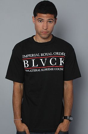 $17  The Trilateral Supreme Tee in Black