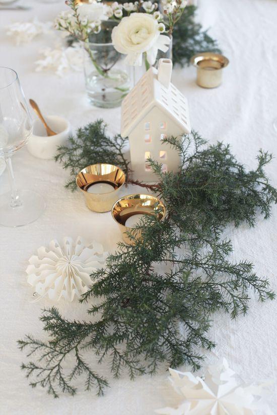 White on White Christmas trend