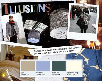 """Cotton Home Trend Forecast Fall Winter 2012/2013- """"Illusions"""""""
