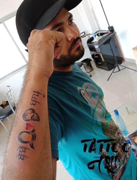 Bebe Bapu Tattoo Bebe Bapu Tattoo Design By Bharat Khatri Tattoo Nasha Mom Dad Tattoos Dad Tattoos Love U Mom Bebe bapu tattoo hd wallpaper