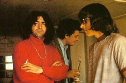 jerry garcia, mike bloomfield and jorma kaukonen / monterey, 1967