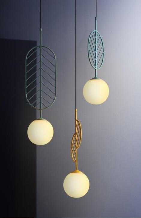 Emmett Modern Nordic Art Deco Wall Lamp in 2020 | Pendant