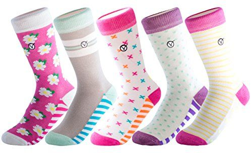 Unisex Cotton Socks for Boys and Girls Stylish Fun Footwear By VYBE Kids 5 Pack Socks 5 pack Casual