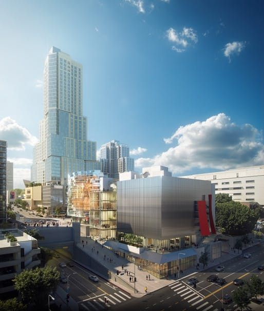 Gehry Partners Unveils Renderings Of Stalled Concert Hall In Downtown Los Angeles Frank Gehry Concert Hall Gehry