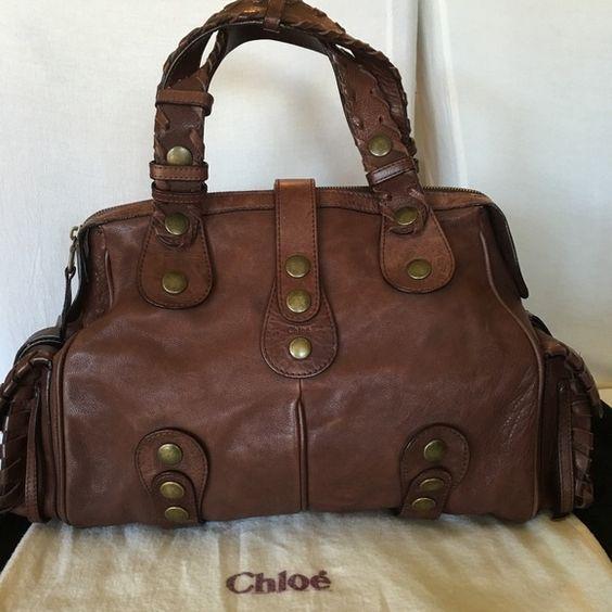 chloe purse - Chloe Large brown Silverado | Chloe Brown, Chloe Bag and Fade In