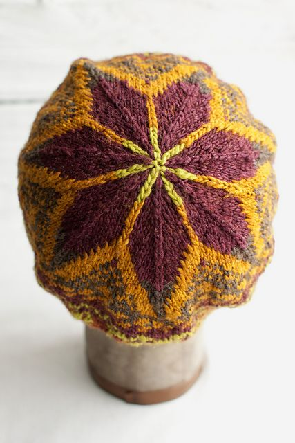 Knitting Pattern - Fair Isle Tam Hat by Lisa R. Myers Knitting Patterns &am...