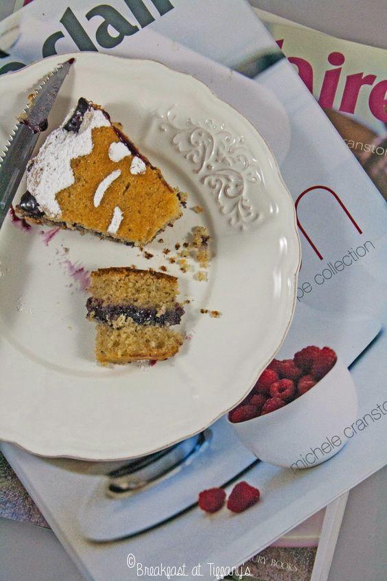 Breakfast at Tiffany's: Torta con grano saraceno e marmellata ai frutti di...