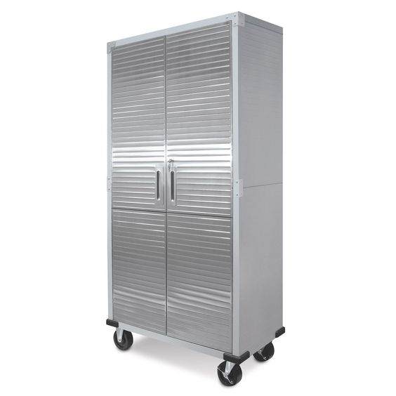 Ultra HD Tall Storage Cabinet - Samu0027s Club Maybe use these instead of sliding  door?