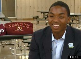 He was once homeless and is now heading to Harvard on a full scholarship! Doesn't get much better than this.