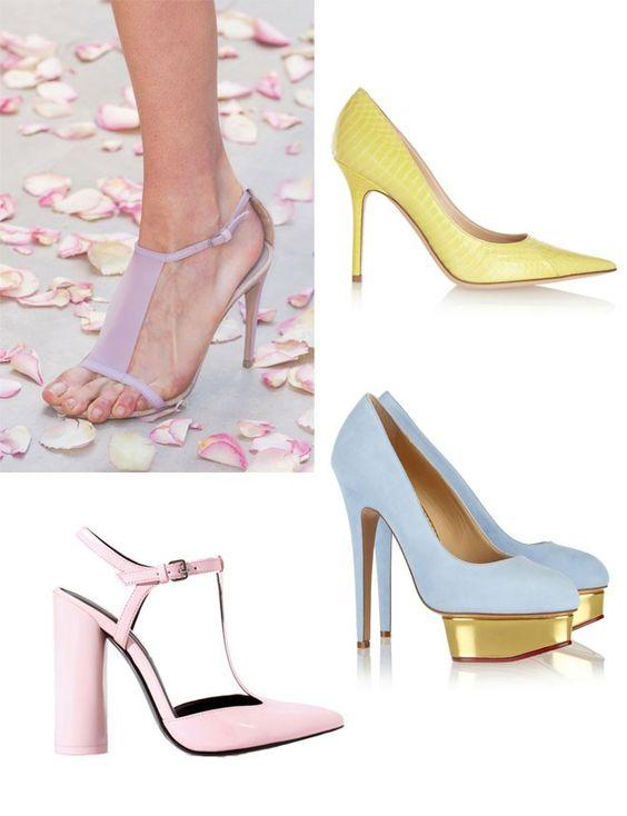 Tonos pastel http://www.marie-claire.es/moda/accesorios/fotos/moda-primavera-quiero-esos-zapatos/pastel2-1