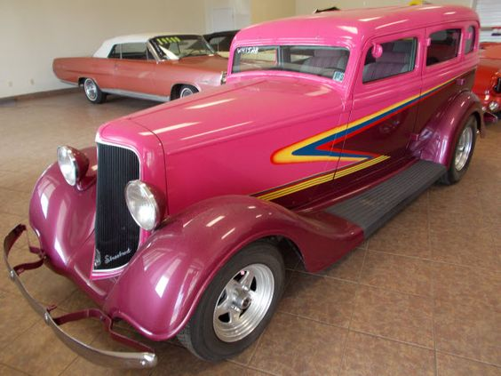 1934 pink plymouth for sale pink classic car classic pink plymouth pink. Black Bedroom Furniture Sets. Home Design Ideas