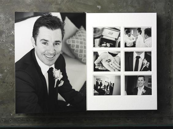 Queensberry Wedding Album | Duo - http://www.queensberry.com/duo | Guy Davies Photographer #weddingalbum: