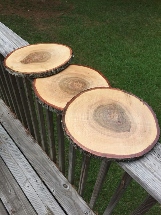How To Preserve Wood Slices For Crafts