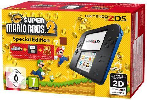 Nintendo 2ds Noir Bleu New Super Mario Bros 2 3ds En 2020 Nintendo 2ds Super Mario Bros Mario Bros