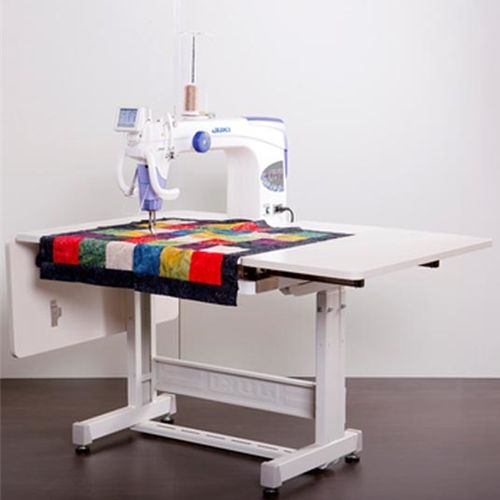 Juki TL-2200 QVP Quilt Virtuoso Pro Long Arm 18 inch x 10 inch Quilting Machine Sit Down Package w/Sit Down Quilting Table: