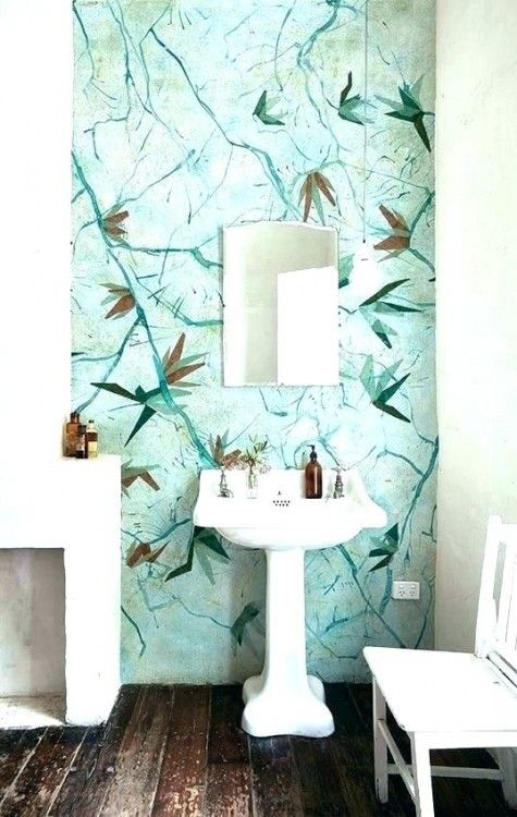 Bathroom Wall Paper Wallpaper Bathroom Wallpaper Small Bathroom Wallpaper Wallpaper Interior Design