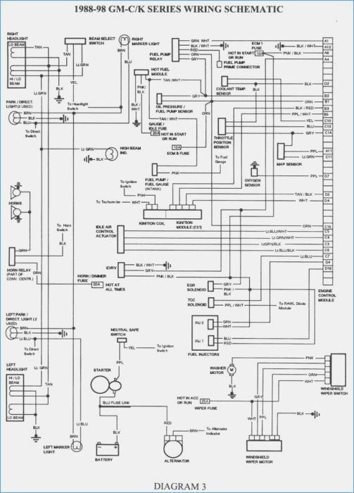 1993 Chevy Silverado Wiring Diagram Jmcdonaldfo Electrical