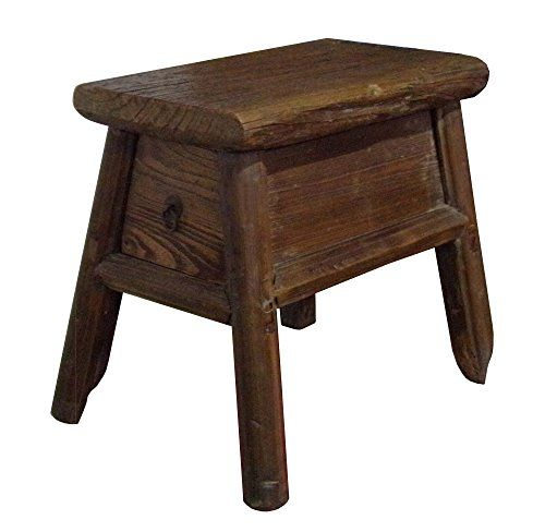 Prime Chinese Raw Wood Rough Finish Accent Single Sitting Stool W Caraccident5 Cool Chair Designs And Ideas Caraccident5Info