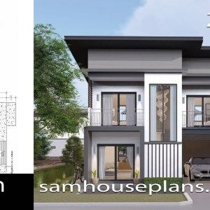 House Plans Idea 7x11 M With 4 Bedrooms Sam House Plans House Plans Bedroom House Plans House Design