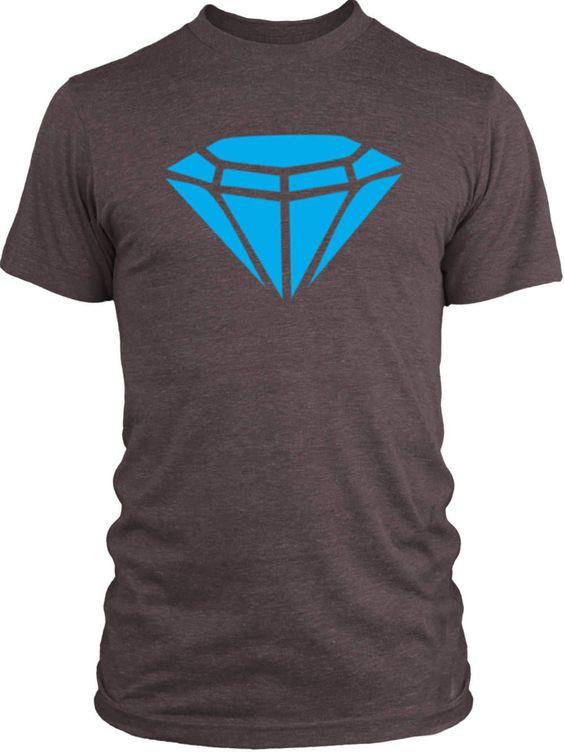 Big Texas Blue Diamond Vintage Tri-Blend T-Shirt