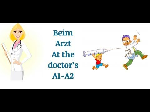 Clases de Alemán Perú: Learn German vocabulary | Beim Arzt | at the doctor's
