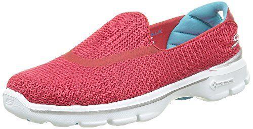 Skechers Damen GO Walk 3 Sneakers, Rot (Rdbl), 35 EU - http://on-line-kaufen.de/skechers/35-eu-skechers-go-walk-3-damen-sneakers-9